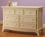 Sorelle Napa Double Dresser in French White
