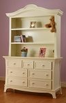 Sorelle Napa Hutch in French White