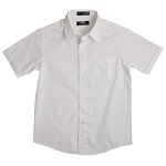 French Toast Short Sleeve Shirt, White