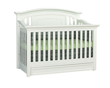 Baby Cache Harbor Crib 4-in-1 White