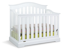 Graco Westbrook 4 in 1 Convertible Crib, White