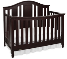 Graco Nottingham Convertible Crib, Espresso