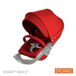 Stokke® Xplory® and Crusi Stroller Seat Textile Kit, Red