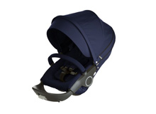 Stokke® Xplory® and Crusi Stroller Seat Textile Kit, Deep Blue