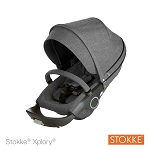Stokke® Xplory® and Crusi Seat Complete Black Melange