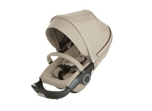 Stokke® Xplory® and Crusi Seat Complete Beige Melange