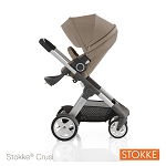 Stokke® Crusi Stroller Brown