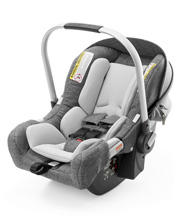 Stokke® PIPA™ by Nuna® Infant Car Seat, Black Melange