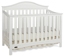 Graco Harbor Convertible Crib, Classic White