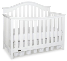 Graco Baby Albany Convertible Crib, Classic White