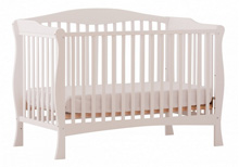 Storcraft Savona 2 in 1 Convertible Crib, White