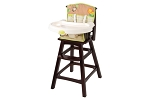 Summer Infant Classic Comfort Wood Highchair – Swingin Safari