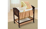Summer Infant Classic Comfort Wood Bassinet – Swingin Safari