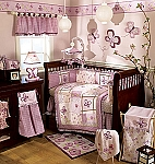 Cocalo Sugar Plum 8 Piece Crib Bedding Set