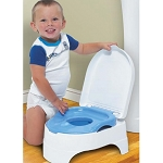Summer All in One Potty Seat and Step & Stool Blue
