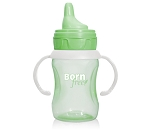 Born Free 7 Ounce Training Cup, Green