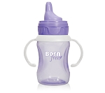 Born Free 7 Ounce Training Cup, Purple