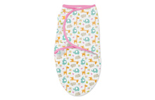 Summer Infant SwaddleMe® Original Swaddle 1-PK - Pink Jungle