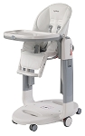 Peg Perego Prima Tatamia High Chair in Latte-White