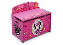 Delta Children Disney  Minnie Deluxe Toy Box