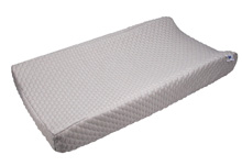 Baby's Journey Serta® Perfect Sleeper Deluxe Change Pad Cover – Gray