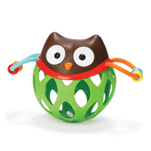 Skip Hop Explore & More Roll Around Rattle, Owl