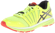 Asics GEL-Lyte33 Running Shoe, Kids - Flash Yellow/Lightning/Red