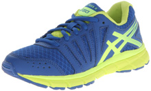 Asics GEL-Lyte33 Running Shoe, Kids - Royal/Flash Yellow/Lime