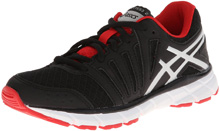 Asics GEL-Lyte33 Running Shoe, Kids - Black/Lightning/Red