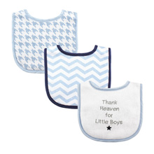 Luvable Friends Baby Drooler Bibs, Thank Heaven For Boys