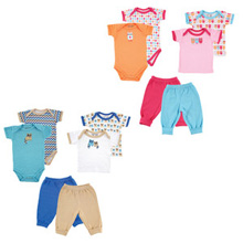 Luvable Friends Mix and Match Clothing Set