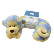 Baby Essentials Monkey Headrest Pillow