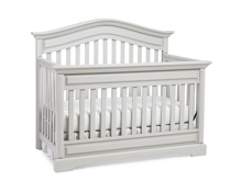 Dolce Babi Venezia Convertible Crib, Misty Grey