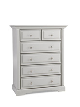 Dolce Babi Venezia 5 Drawer Dresser, Misty Grey