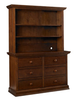 Dolce Babi Maximo Hutch, Walnut