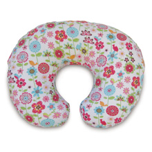 Boppy® Slipcovered Pillow, Backyard Blooms