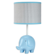 Zutano® Elefant Blau Lamp Base and Shade