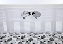 NoJo® Good Night Sheep Secure-Me Crib Liner