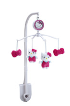 Hello Kitty Cute As A Button Musical Mobile