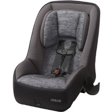 Cosco MightyFit™ 65 DX Convertible Car Seat, Heather Onyx Gray