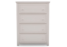 Simmons Kids® Oakmont 4 Drawer Chest, Rustic Bianca