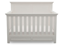 Simmons Kids® Oakmont Crib 'N' More, Rustic Bianca