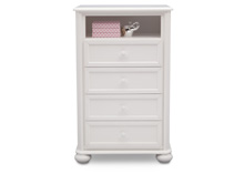 Simmons Kids® Peyton 4 Drawer Chest, Bianca