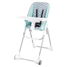 Evenflo Symmetry Elite High Chair, Spearmint Spree (Logan)