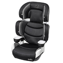 Evenflo RightFit Booster 2-in-1 Car Seat, Carbon