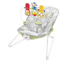 Fisher Prince Baby's Bouncer - Geo Meadow™