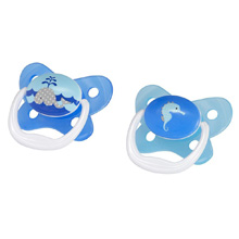 Dr. Brown's PreVent Orthodontic Pacifiers Butterfly 0-6m - 2 Pack