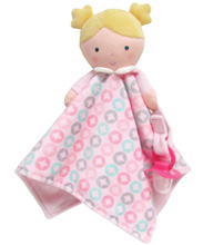 Baby Dolls Doll Blanky and Pacifier Holder