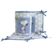 Bedtime Originals Forever Snoopy™ 4-Piece Crib Bumper