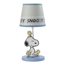 Bedtime Originals Forever Snoopy™ Lamp and Shade with Bulb